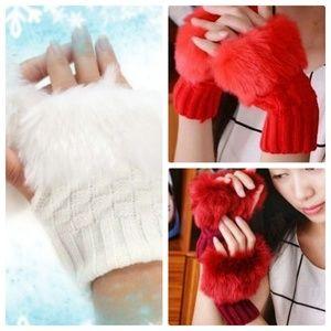 Accessories - Brand new! 5 Prs Faux Fur Gloves Bundle